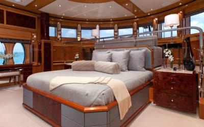 Styling the Perfect Bed for Sweet Dreams at Sea