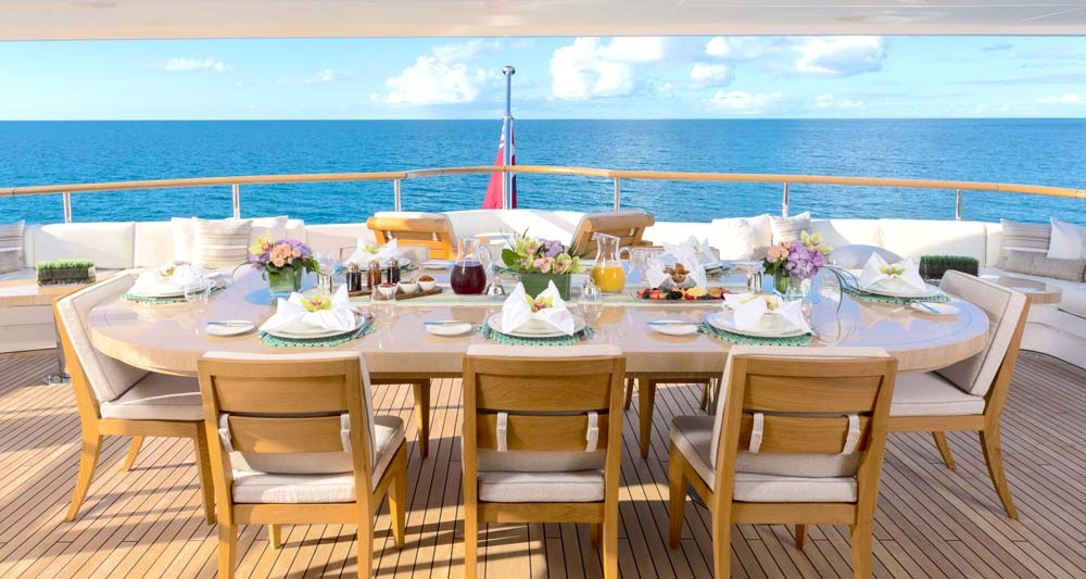 , Designing the Superyacht Table