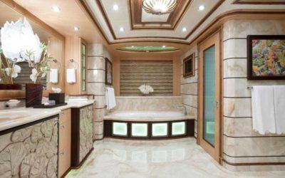 Head of Class The Quintessential Superyacht Bathroom
