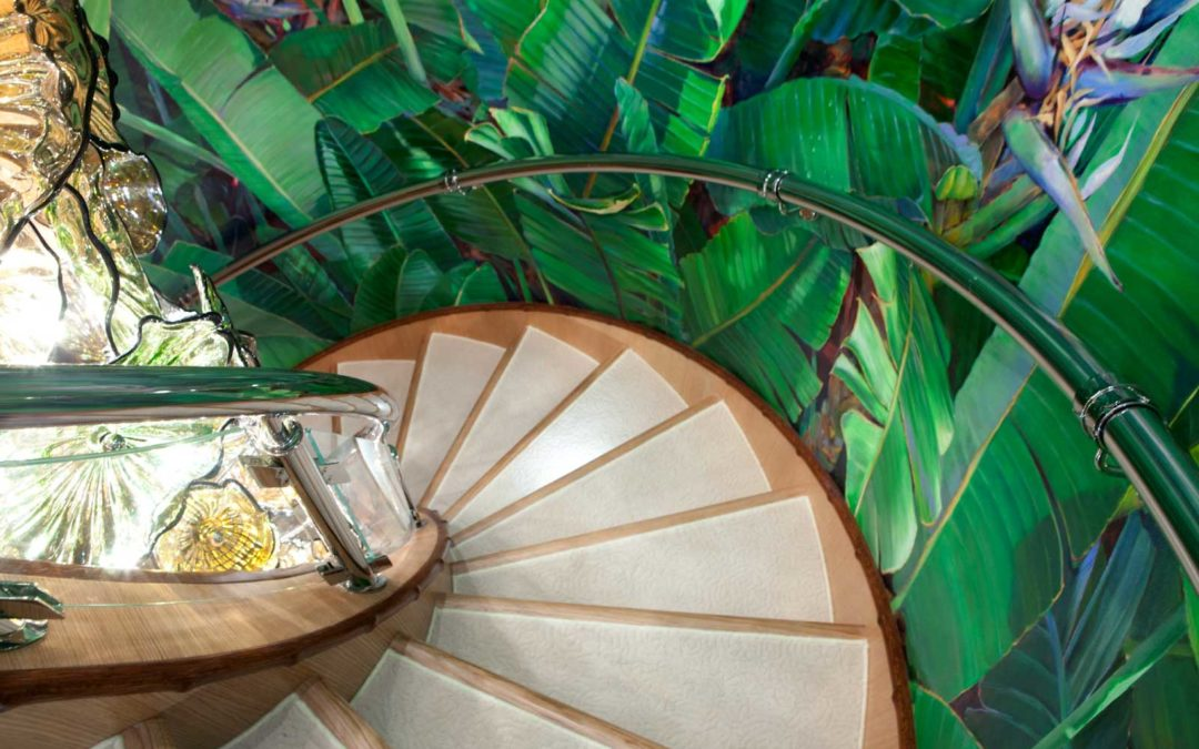 The Superyacht Statement Piece of the Decade: The Staircase