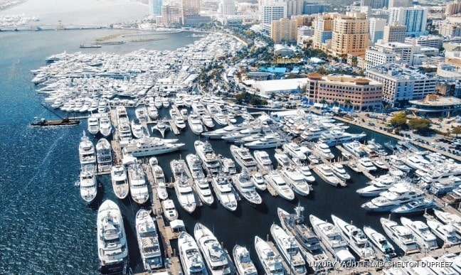 Marina in Miami